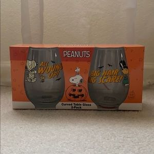 Peanuts Snoopy Glass set of 2